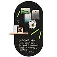 Groovy Magnets Groovy Magnets chalkboard magnetic sticker oval