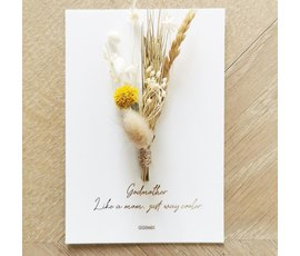 Cocoomade Cocoomade flowercard Godmother