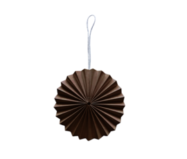 Delight Department Ornament brown paper