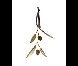 Delight Department Metal leaf ornament