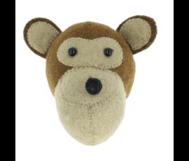Fiona Walker Fiona Walker felt animal head monkey mini