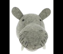 Fiona Walker Fiona Walker felt animal head hippo mini