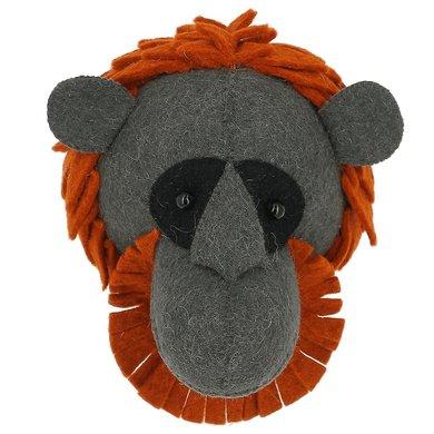 Fiona Walker Fiona Walker vilt dierenkop orangutan mini