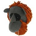 Fiona Walker Fiona Walker felt animal head orangutan mini