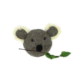 Fiona Walker Fiona Walker felt animal head koala mini