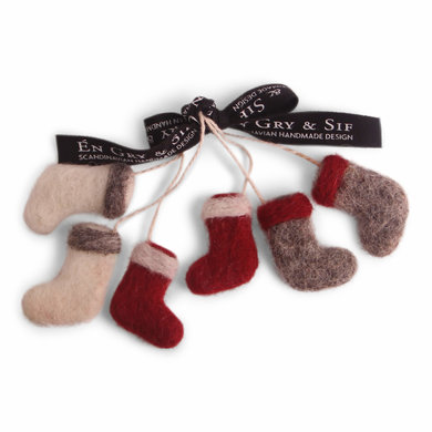 En Gry & Sif En gry & sif Christmas socks set of 3