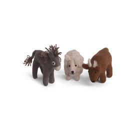 En Gry & Sif En gry & sif sheep, donkey, ox