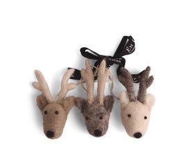 En Gry & Sif En gry & sif reindeer faces set of 3
