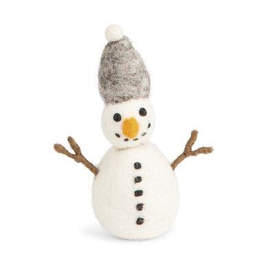 En Gry & Sif En gry & sif sneeuwpop grijze hoed
