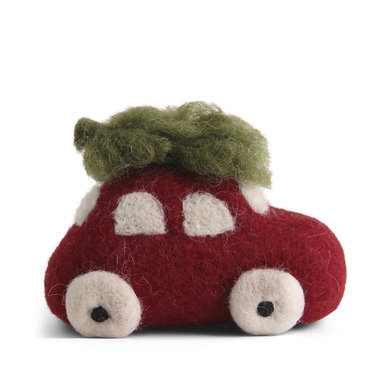 En Gry & Sif En gry & sif rode auto groot