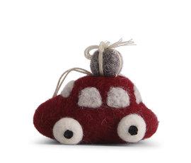 En Gry & Sif En gry & sif red car small