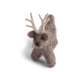 En Gry & Sif En gry & sif reindeer standing grey