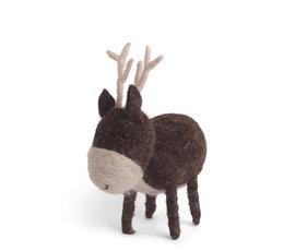 En Gry & Sif En gry & sif reindeer standing large brown