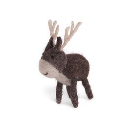 En Gry & Sif En gry & sif reindeer small brown standing