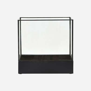 House Doctor Display box zwart breed