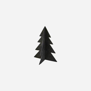 House Doctor Black Christmas tree iron H17