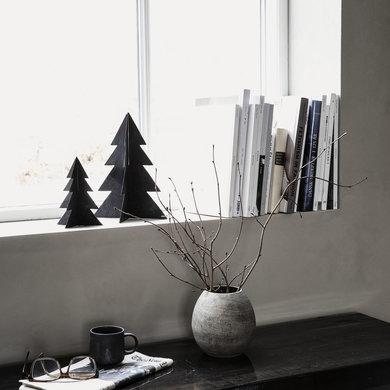 House Doctor Zwarte kerstboom Glizz  iron H26