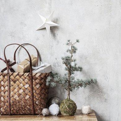 House Doctor Kerstboom met ledverlichting 50 cm