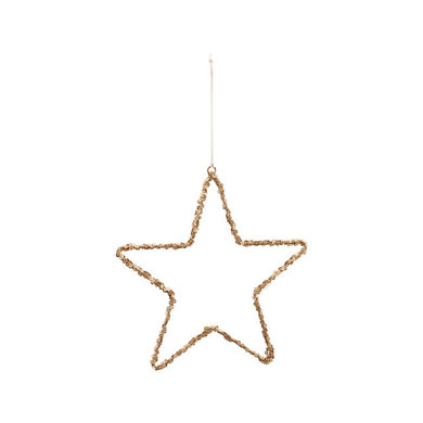 House Doctor Ornament star gold
