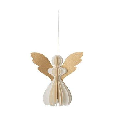 Bloomingville Bloomingville ornament engel met goud