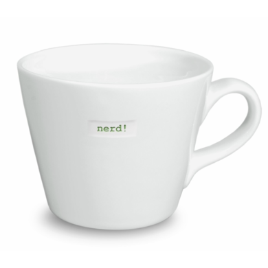 Keith Brymer Jones Bucket mug nerd