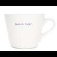 Keith Brymer Jones Bucket mug let's do this