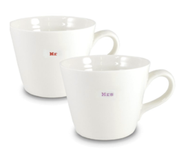 Keith Brymer Jones Bucketmug mr & mrs
