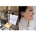 Lisa la pelle Lisa La Pelle earrings Joy with mini me gold