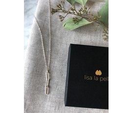 Lisa la pelle Lisa la Pelle necklace moment of joy zilver