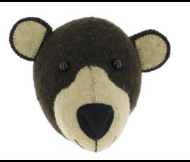 Fiona Walker Fiona Walker felt animal head bear mini