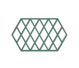 Zone Denmark Zone pannenonderzetter Harlequin Emerald