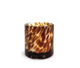 Oscar Candles Oscar Candles Leopard small beige wax
