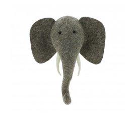Fiona Walker Fiona Walker felt animal head elephant mini