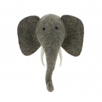 Fiona Walker Fiona Walker vilt dierenkop olifant mini