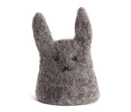 En Gry & Sif Én Gry & Sif cozy bunny egg white grey