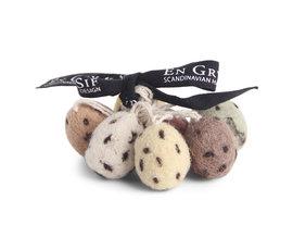En Gry & Sif Én Gry & Sif mini eitjes naturel set van 7