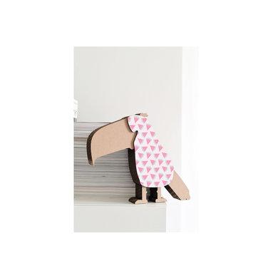 Koko Cardboards Koko Cardboards DIY Neushoorn