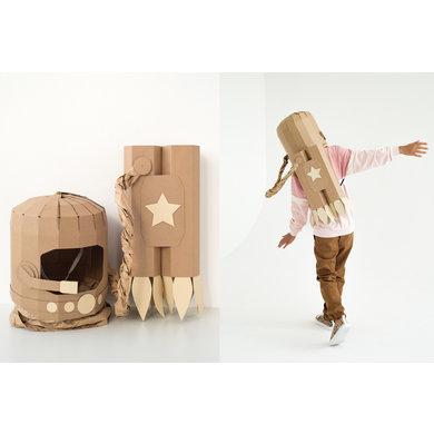 Koko Cardboards Koko Cardboards DIY kostuum Astronaut