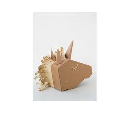 Koko Cardboards Koko Cardboards DIY kostuum unicorn