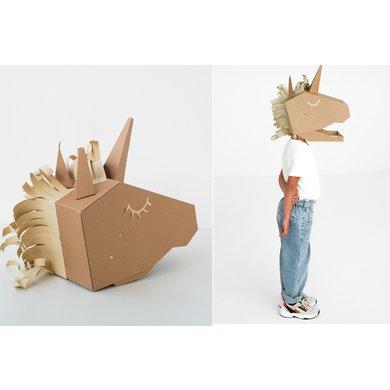 Koko Cardboards Koko Cardboards DIY costume unicorn