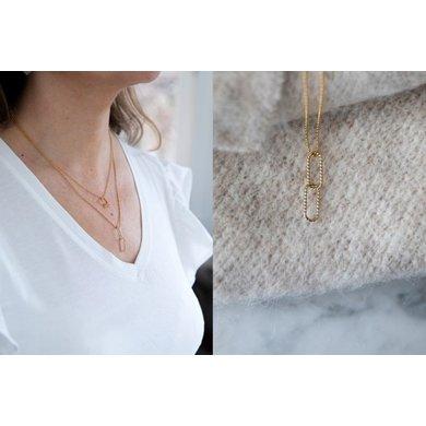 Lisa la pelle Lisa la Pelle necklace single grace