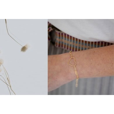 Lisa la pelle Lisa la Pelle bracelet forever by heart