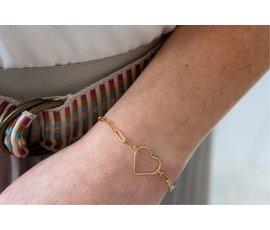 Lisa la pelle Lisa la Pelle armband forever by heart