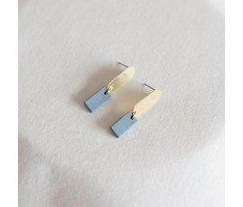 Studio Nok Nok Studio Nok Nok earrings Basic.03 blue