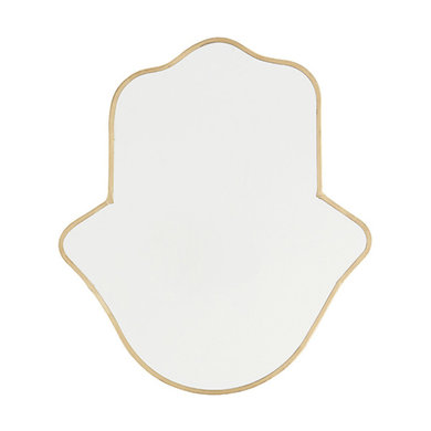 Madam Stoltz Madam Stoltz mirror gold