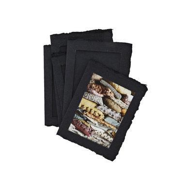 Madam Stoltz Madam Stoltz papieren fotolijsten zwart