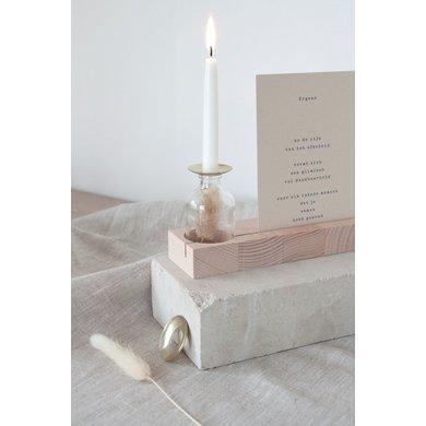 Roosmarijn Knijnenburg Hold me set + 2 candles mint green