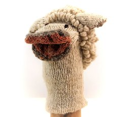 Kenana Nitters Kenana Knitters hand puppet sheep