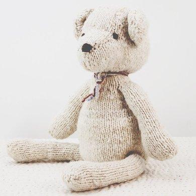 Kenana Nitters Kenana knitters cuddly bear L beige