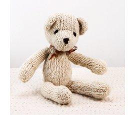 Kenana Nitters Kenana knitters knuffel beer S beige